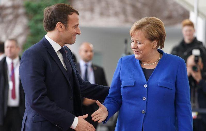 Erstes Treffen zwischen Merkel und Macron – Wohin fließt das viele Geld für den Wiederaufbau