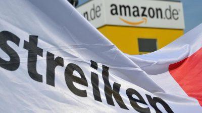 Gewerkschaft ruft zum Streik auf – 450 Amazon-Mitarbeiter in Rheinberg legen Arbeit nieder