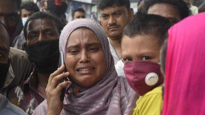 Bangladesch: Mindestens 29 Tote bei Schiffsunglück