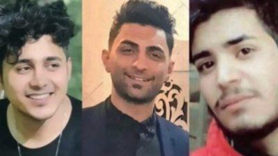 Iran: Weltweite Protestwelle gegen Todesstrafe für drei junge Männer