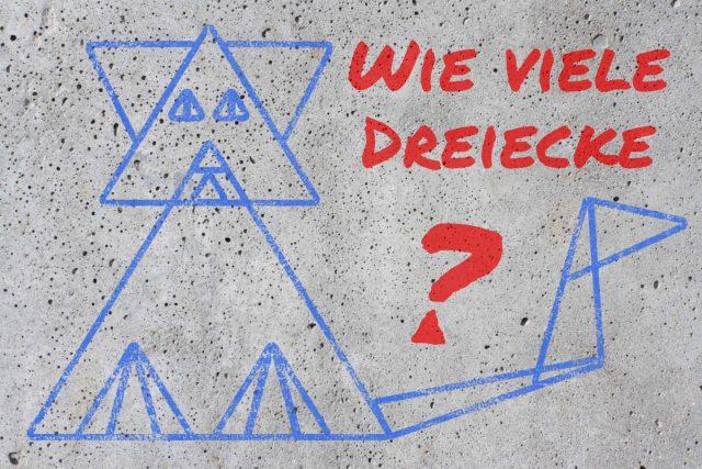 Katzen-Dreiecke-Rätsel