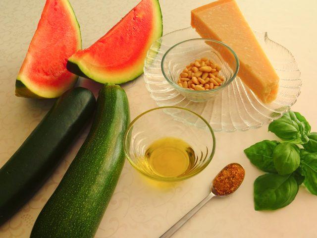 Vier sommerliche Rezepte mit Wassermelone: Melonen-Nudeln
