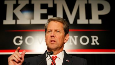 Gouverneur von Georgia ruft den Notstand aus und schickt die Nationalgarde nach Atlanta