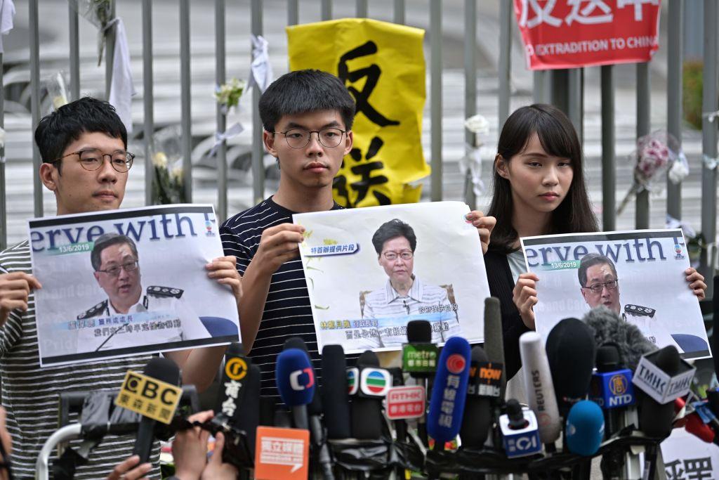 Hongkong: Joshua Wong zu 13,5 Monaten Gefängnis verurteilt