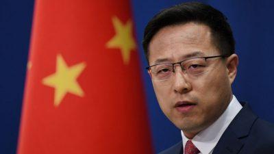 """KP-Führung Chinas droht USA wegen diplomatischen Beziehungen zu Taiwan mit """"Gegenschlag"""""""