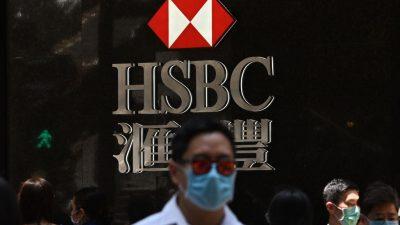 Hongkongs Sicherheitsgesetz: Internationale Banken prüfen Kunden auf Demokratie-Verbindungen