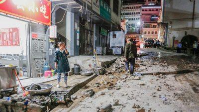 Erneut Erdbeben in China – Fünf an einem Tag in Tibet bis Stärke 6,6