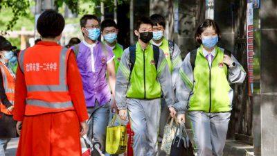 Neuer COVID-19-Ausbruch im Nordosten Chinas: Drei Provinzen betroffen