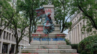 """Weitere Gewaltausbrüche in den USA – Task Force gegen """"Antifa"""" und zum Schutz von Denkmälern eingerichtet"""