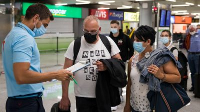 Maskenpflicht auf den Balearen weiter verschärft