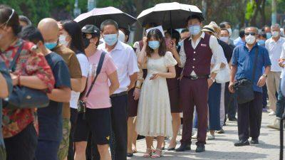 Geleakte Dokumente: Behörden verschleiern Daten des erneuten Virusausbruchs in Peking und Hebei