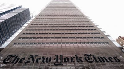 "Menschenrechtsgruppen werfen ""New York Times"" in Bezug auf Falun Gong Heuchelei vor"