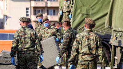 Serbien verhängt erneut Ausgangssperre wegen Corona-Pandemie