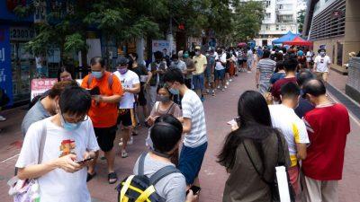 Vorwahlen der Pro-Demokraten in Hongkong: 170.000 erwartet, 600.000 kamen