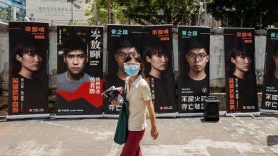 Zwölf Demokratie-Aktivisten von Wahl in Hongkong ausgeschlossen