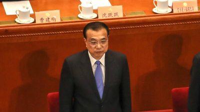 """Von höchster Stelle zugegeben: Chinesische Wirtschaft steht vor """"beispiellosen"""" Herausforderungen inmitten der Pandemie"""
