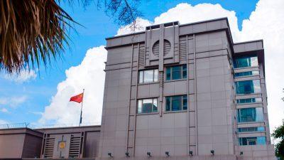 Schließung in Houston, Eklat in San Francisco: Chinas Konsulate in den USA als Spionage-Helfer