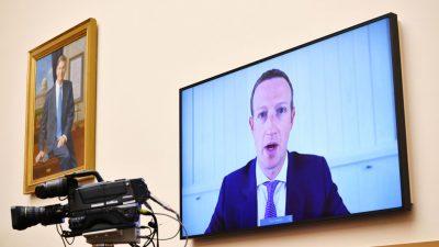 Big Tech vor dem Antitrust-Komitee: Zuckerberg und Bezos bekennen sich als US-Patrioten