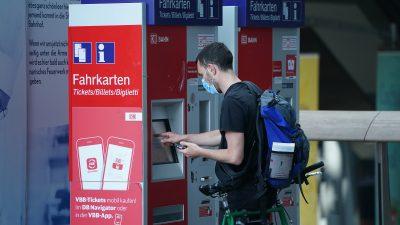 Zahl gesprengter und aufgebrochener Deutsche Bahn-Ticketautomaten gestiegen