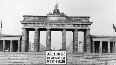 Negativfolgen des Mauerbaus? Die DDR wurde 1962 von der Ruhr heimgesucht