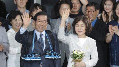 Südkorea: Bürgermeister von Seoul nach Belästigungs-Vorwürfen tot aufgefunden