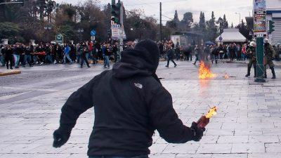 Griechenland: Neun Festnahmen nach Ausschreitungen wegen Gesetzesänderung in Athen