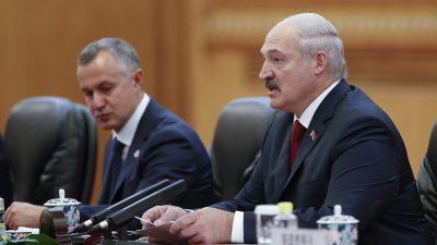 """Lukaschenko erklärt """"Blitzkrieg"""" des Auslands gegen Belarus für gescheitert"""