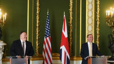 London: Pompeo fordert globale Zusammenarbeit, um Chinas Regime zurückzudrängen