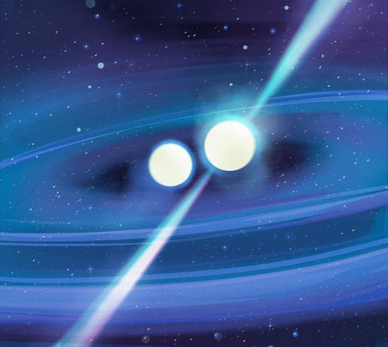 Kollidierende Neutronensterne bringen Licht ins Dunkel des Universums und seiner Geheimnisse