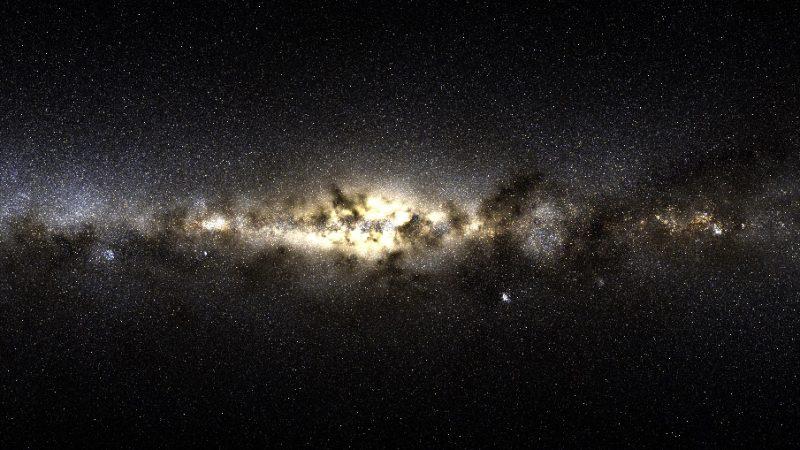Außergalaktische Sterne in der Milchstraße entdeckt.