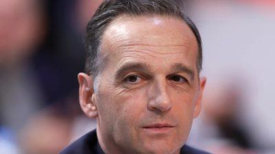 Maas will im Gasstreit zwischen Griechenland und der Türkei vermitteln