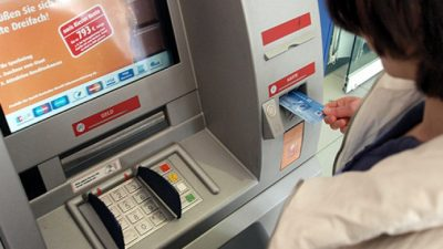 """SPD kritisiert Schließung von Geldautomaten: """"Bankrotterklärung vor den Verbrechern"""""""