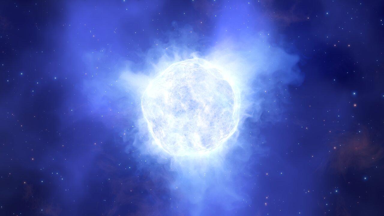 Kosmisches Mysterium: Massereicher Stern verschwindet vom Himmel