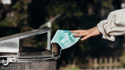 """""""Ein gigantisches Müllproblem"""": Umweltinstituts-Leiter warnt vor Mikroplastik in Gesichtsmasken"""