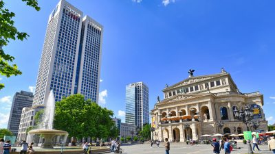Frankfurt am Main: Ruhe am Opernplatz – Polizei zeigt sich zufrieden mit Sicherheitskonzept