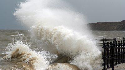 Wetterdienst: Im Norden stürmisch