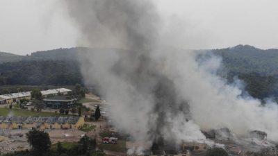 Drei Tote in Italien bei Explosion in Sprengstofffabrik