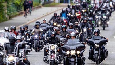 Demonstrationen der Biker – Verkehrsminister gegen Fahrverbote an Sonn- und Feiertagen