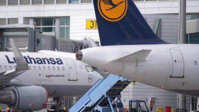 Erste Staats-Milliarde bei Lufthansa eingetroffen