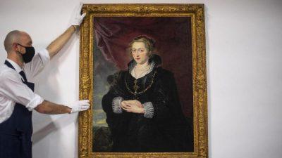 Wiederentdeckt: Wertvolles Rubens-Gemälde unter Staubschicht freigelegt