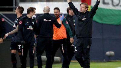 Werder verbleibt nach Remis in Heidenheim in der Bundesliga