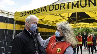 Stadionbesuch in Corona-Zeiten: Anfeuern mit Maske?