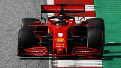 Vettel in Spielberg abgeschlagen – Verstappen holt Bestzeit
