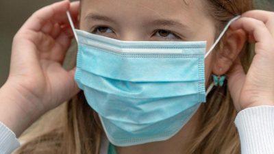 WHO und UNICEF empfehlen Jugendlichen ab zwölf Jahren das Maskentragen