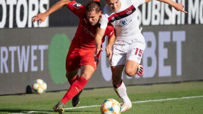 FC Nürnberg entgeht in letzter Sekunde der Drittklassigkeit