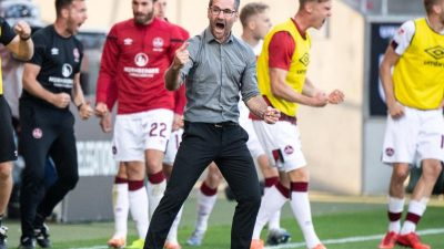 1. FC Nürnberg nach Rettung im «Gefühlschaos»
