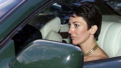 Epstein-Vertraute Ghislaine Maxwell will Kaution von 28,5 Millionen hinterlegen