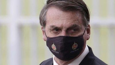 """Bolsonaro: Brasilianer sollen """"sich dem Virus stellen"""""""