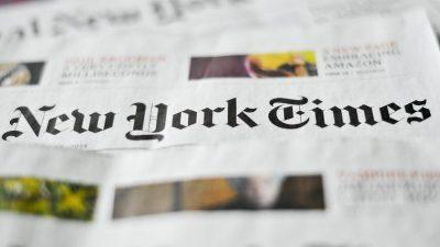 """""""New York Times"""" verbreitet Desinformationen über die Epoch Times – mittels Schattenfirmen"""