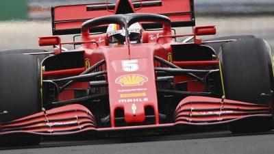 Bestzeit für Vettel im Regentraining von Budapest